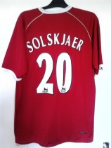 2006-2007 Manchester United (Solskjaer 20) Unlicensed Football Shirt (Adult XL)