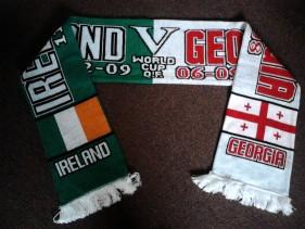 Republic of Ireland vs Georgia World Cup International Football Match Day Scarf (Scarves)