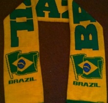 Brazil International Football Team Scarf (Scarves)