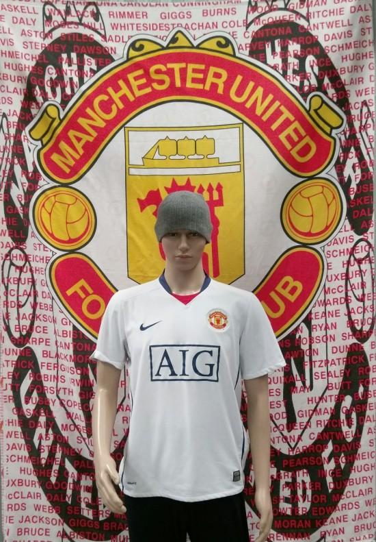 2008-2009 Away White