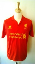 2012-2013 Liverpool Official Warrior Football Shirt (Youths 11-12 Years)