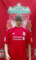 2010-2012 Liverpool Official Adidas Football Shirt (Youths 11-12 Years)