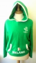 Republic of Ireland Official Euro 2012 Football Hoodie (Youths 8-10 Years)