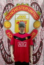 2009-2010 Manchester United Official Nike Football Shirt (Youths 10-12 Years)