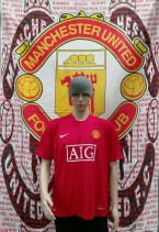 2007-2009 Manchester United Official Nike Football Shirt (Adult Large)