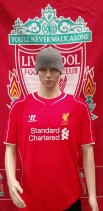 2014-2015 Liverpool Official Warrior Football Shirt (Adult Small)