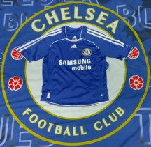 2006-2008 Chelsea Official Adidas Football Shirt (Youths 7-8 Years)