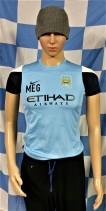 Manchester City Official Nike Football Shirt (Youths 10-12 Years)
