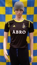2012-2013 AIK Stockholm Official Adidas Football Shirt (Youths 11-12 Years)