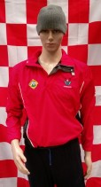 Cork Ladies Squad Worn Gaelic Football Half Zip Jacket (Ladies Size 10)