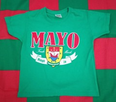 Mayo GAA Gaelic Football T-Shirt (Youths 3-4 Years)