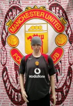 2005-2006 Manchester United Official Nike Football Training Shirt (Adult Large)