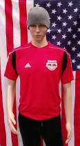 New York Red Bull Official Adidas Football Shirt (Adult Medium)
