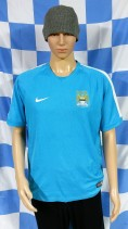 Manchester City Official Nike Football Shirt (Adult Small)