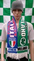 Republic of Ireland vs Italy International Football Match Day Scarf