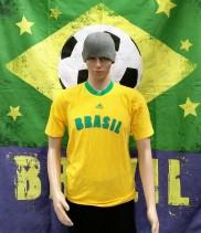 2002 Brazil Official Adidas Football Shirt (Adult Small)