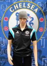 Chelsea Official Adidas Football Polo Shirt (Adult Medium)