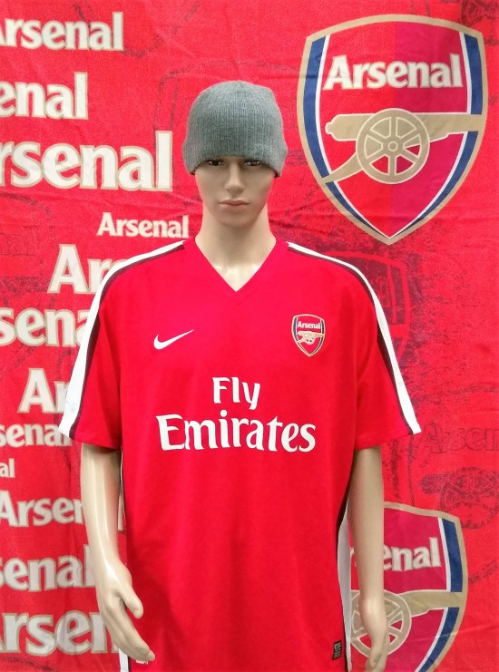 best sneakers 2ce33 6fbcd 2008-2010 Arsenal Official Nike Football Shirt (Adult XL)