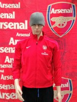 Arsenal Official Nike Football Jacket (Youths 12-13 Years)