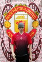 Manchester United Official Nike Football Training Shirt (Adult Medium)
