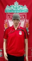 Liverpool Official Adidas Football Polo Shirt (Adult Medium)