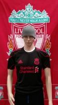 Liverpool Official Adidas Football Training Shirt (Adult Small)