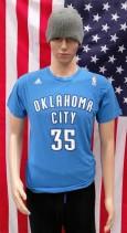 Oklahoma City Thunder (Kevin Durant) Authentic NBA Basketball Shirt (Adult Medium)