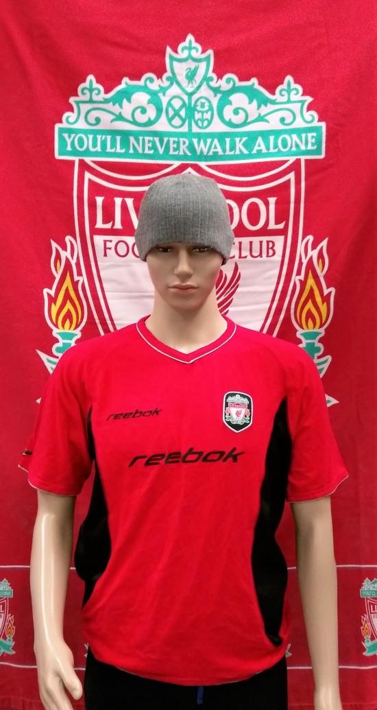 big sale 5f896 51571 2001-2003 Liverpool Official Reebok Football Training Shirt (Adult Large)