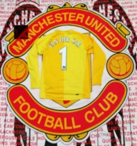 2006-2007 Manchester United Nike Football Shirt (Youths 10-12 Years)