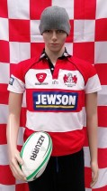Gloucester Official RugbyTech Rugby Union Jersey (Youths 12-13 Years)