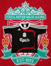 2007-2008 Liverpool Adidas Football Shirt (Youths 3-4 Years)
