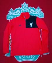 2016-2017 Liverpool New Balance Football Jacket (Youths 10-11 Years)