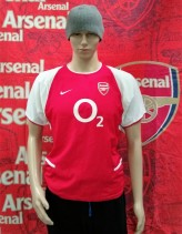 2003-2004 Arsenal Official Nike Football Shirt (Youths 13-15 Years)