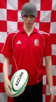 2005 British & Irish Lions Adidas Rugby Union Polo Shirt (Adult Small)