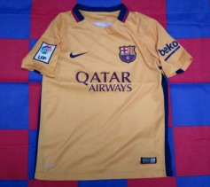 2015 Barcelona Official Nike Football Shirt (Youths 10-12 Years)