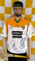 2006 Antrim GAA O'Neills Hurling Jersey (Adult Small)