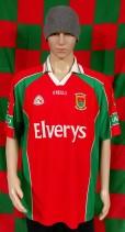 2004 Mayo GAA O'Neills Gaelic Football Jersey (Adult XL)