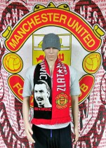 Manchester United (Zlatan Ibrahimovic) Football Scarf (Scarves)