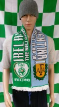 2010 Republic of Ireland vs Argentina International Football Match Day Scarf