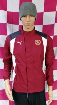 Hearts of Midlothian Puma Football Jacket (Youths 12-13 Years)