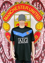 2009-2010 Manchester United Official Nike Football Shirt (Adult XL)