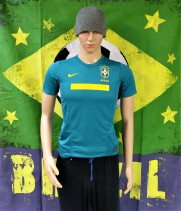 2011-2012 Brazil Official Nike Football Shirt (Youths 12-13 Years)