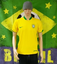 2006-2008 Brazil Official Nike Football Shirt (Adult Medium)