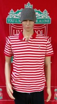 Liverpool Official L.F.C. Football Polo Shirt (Adult Large)