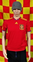 2010 Spain Official Adidas Football Shirt (Youths 13-14 Years)