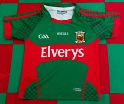 2016 Mayo GAA O'Neills Gaelic Football Jersey (Youths 3-4 Years)