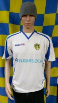 2008-2009 Leeds United Official Macron Football Shirt (Adult Large)