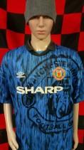 1992-1993 Manchester United Umbro Football Shirt (Adult XXL)