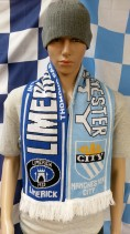 2012 Limerick F.C. vs Manchester City Football Scarf