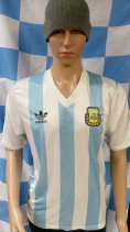1990-1991 Argentina Adidas Football Shirt (Adult Medium)